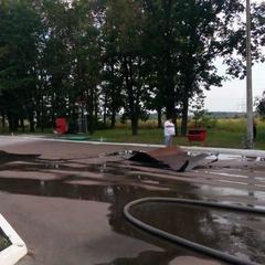 На Київщині внаслідок автокатастрофи стався вибух на АЗС : є загиблі (фото)