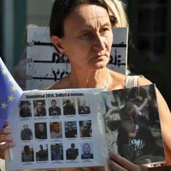 Під час саміту Україна-ЄС на Банкову із мітингом вийшли рідні полонених