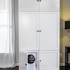Винахід для лінивих: шафа, яка сама розвішує одяг (фото)