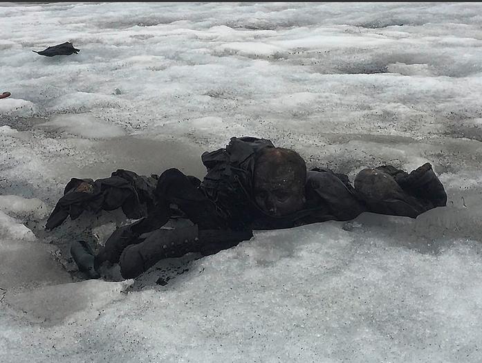 ВАльпах знайшли тіла пари, щозникла 75 років тому