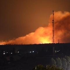 На околиці Миколаєва вирує масштабна пожежа (відео, фото)