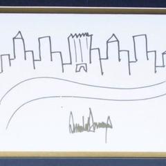 У США на аукціоні продадуть малюнок Трампа (фото)