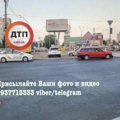 У Києві несправний світлофор спровокував потрійне ДТП (фото)