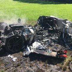 Британець розбив гоночний Ferrari через годину після придбання (фото)