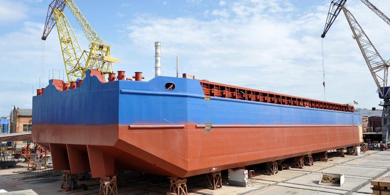 За три роки в Україні збудували 42 судна