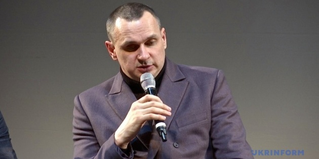 Олег Сенцов сьогодні презентує новий роман