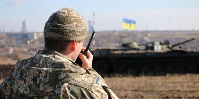 На Донбасі українські війська обстріляли з ракетних комплексів