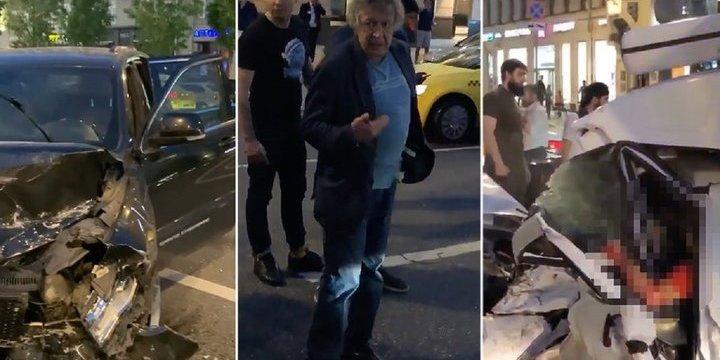 Російський актор Єфремов влаштував п'яну ДТП у центрі Москви