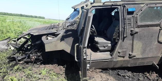 В Авдіївці підірвався автомобіль ЗСУ - травмовані 10 військових