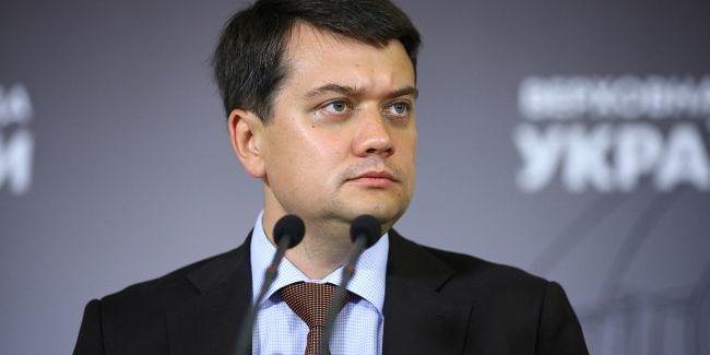 Дмитро Разумков обґрунтував необхідність російської мови в Україні