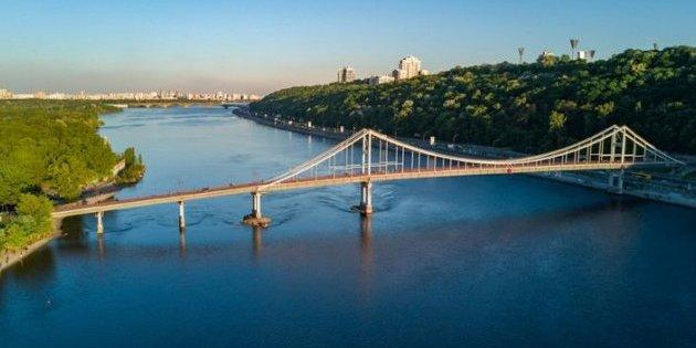 КМДА анонсувала створення півкілометрової канатної дороги через Дніпро