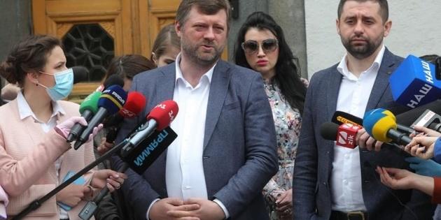 Корнієнко та Ірина Аллахвердієва  відреагували на оприлюднений запис розмови «слуг народу»