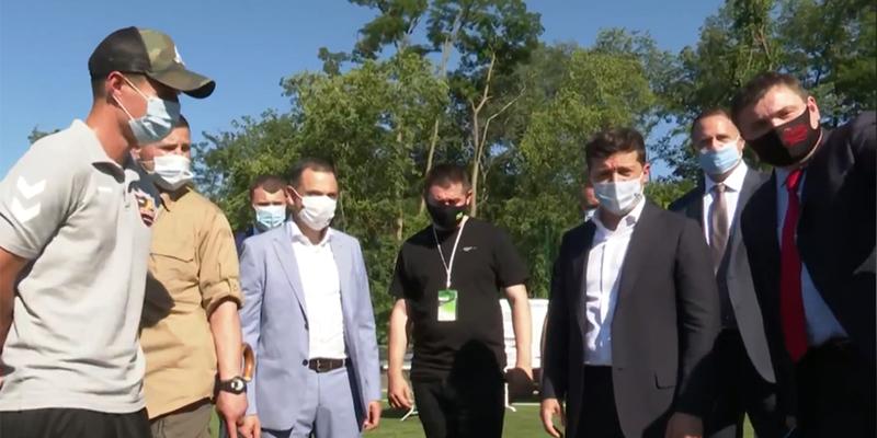 Зеленський доручив «Юзіку» відновити ФК «Кривбас»
