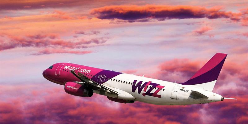 Wizz Air запустить нові рейси з України до Італії та Чехії
