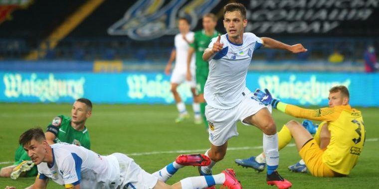 «Динамо» в серії пенальті проти «Ворскли» здобуло Кубок України