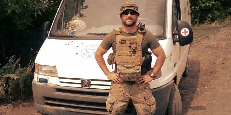 Загиблий на Донбасі військовий медик був громадянином Естонії