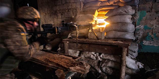 Окупанти обстріляли із заборонених мінометів позиції ЗСУ під Новотошківським