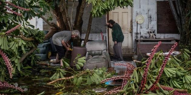 Циклон «Ханна» ударив по узбережжю США - у Техасі ввели надзвичайний стан