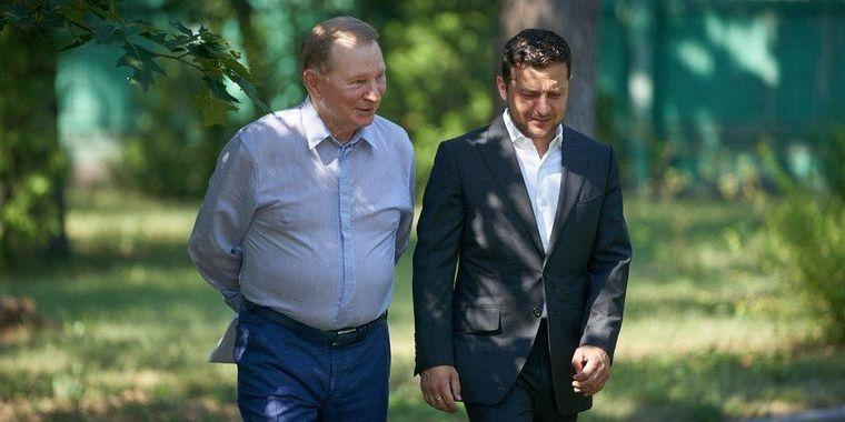 Кучма більше не братиме участь в переговорах щодо Донбасу — Зеленський