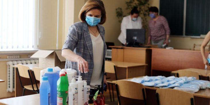 Поборів з батьків на засоби дезінфекції у навчальних закладах не повинно бути, - заступник голови КМДА