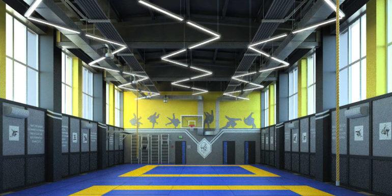 На Солом'янці відкривається нова спортивна зала для дзюдо