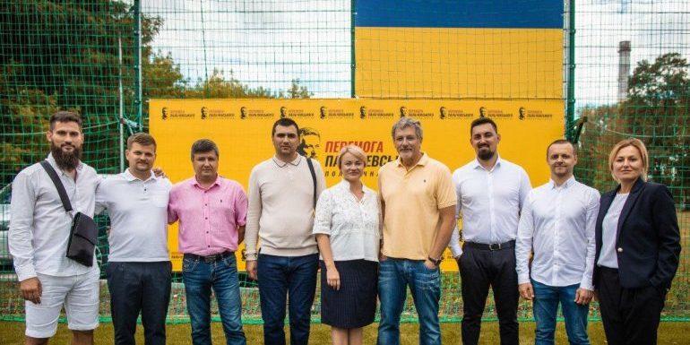Пальчевський привітав юнацьку команду футбольного клубу «Бровари» з виходом до вищої дитячої ліги