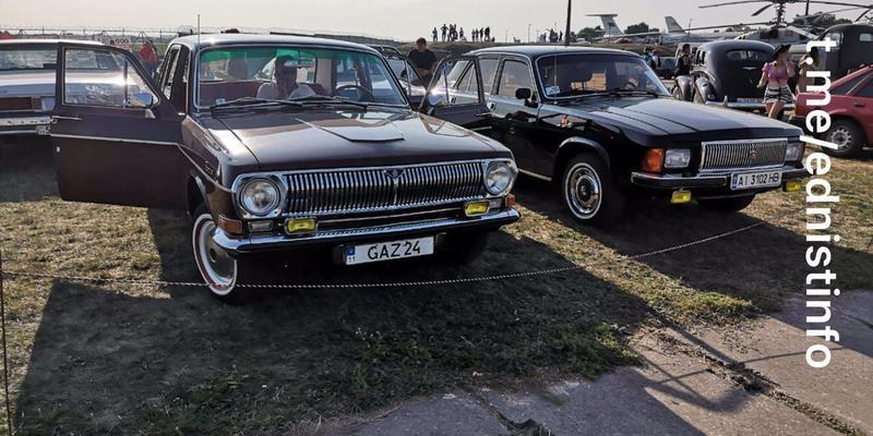 У Києві проходить «Ретрозліт OldCar». Пряма трансляція