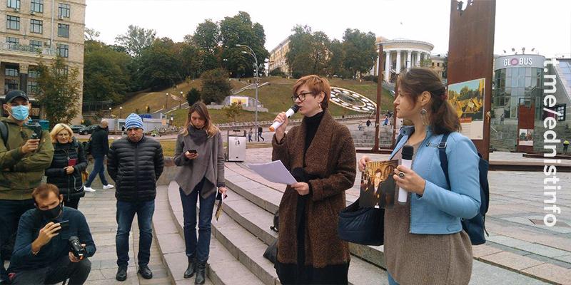 Акція пам'яті Георгія Гонгадзе і убитих українських журналістів. Пряма трансляція