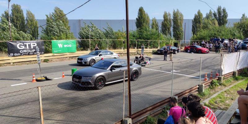 У Києві відбувається Drag Racing. Пряма трансляція