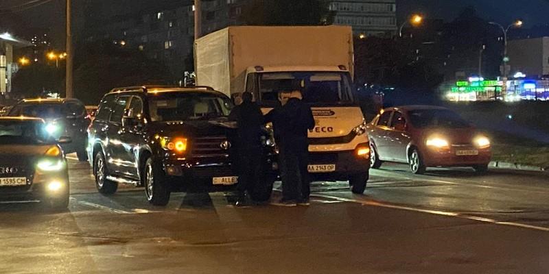 ДТП біля м.Мінська в Києві. Пряма трансляція
