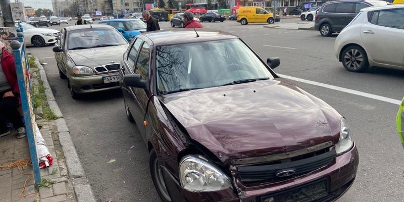 ‼️ ДТП на бульварі Лесі Українки в Києві. Пряма трансляція