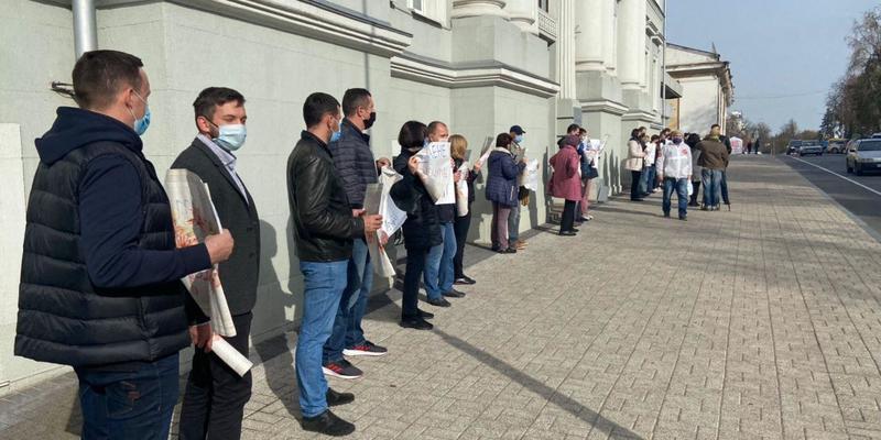 Флеш-моб проти корупції в Чернігові. Пряма трансляція