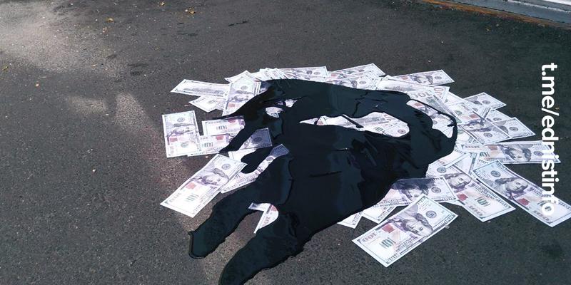 """Активісти взяли під контроль офіси партії """"Єдність"""", щоб запобігти підкупу виборців"""