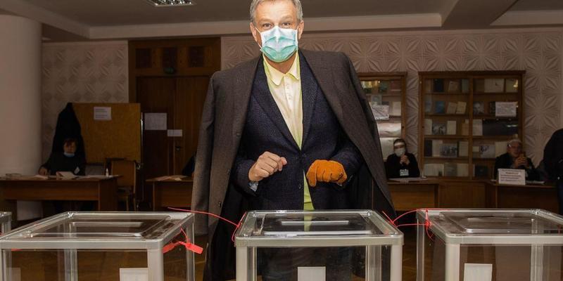 Андрій Пальчевський проголосував за перемогу киян
