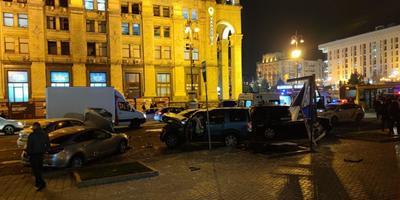 Жахлива ДТП на Майдані з загиблими. Пряма трансляція