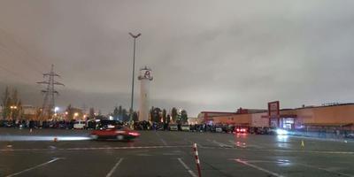 У Києві відбувся нічний дріфт. Пряма трансляція