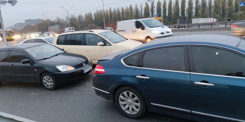 ДТП на Одеському мосту. Рух ускладнено. Пряма трансляція.