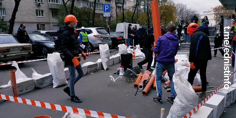 Протест проти незаконних забудов в Києві та корупції в ДАБІ. Пряма трансляція