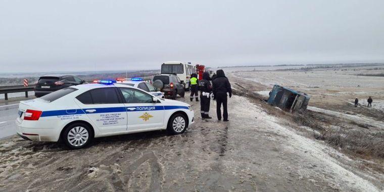 У Росії перекинувся автобус, який їхав до тимчасово окупованого Донецька — є загиблі