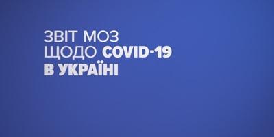 4 383 нових випадки коронавірусної хвороби COVID-19 зафіксовано в Україні
