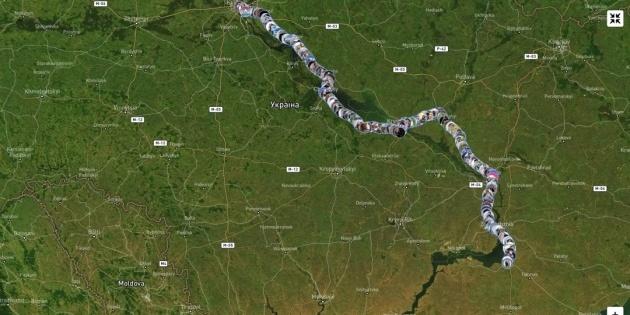 «Ланцюг єдності» між Києвом та Сімферополем: як долучитися до проєкту