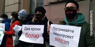 Українці вимагають легалізувати медичну марихуану. Пряма трансляція
