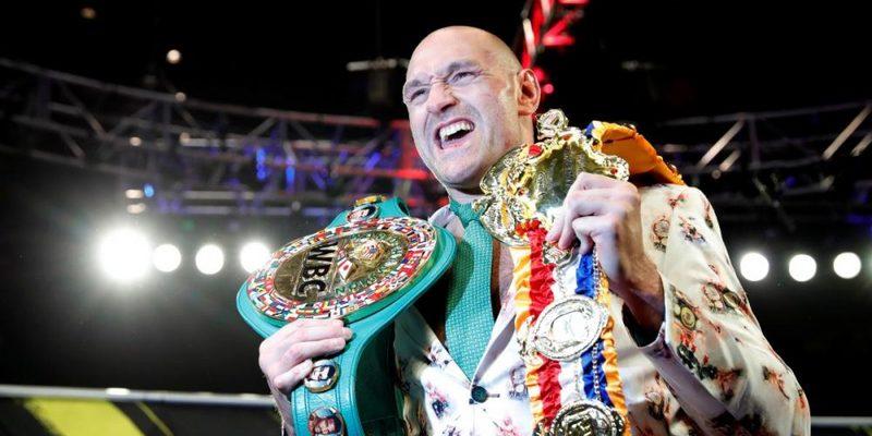 Скільки зароблять важковаговики Джошуа та Ф'юрі за бій за звання абсолютного чемпіона світу