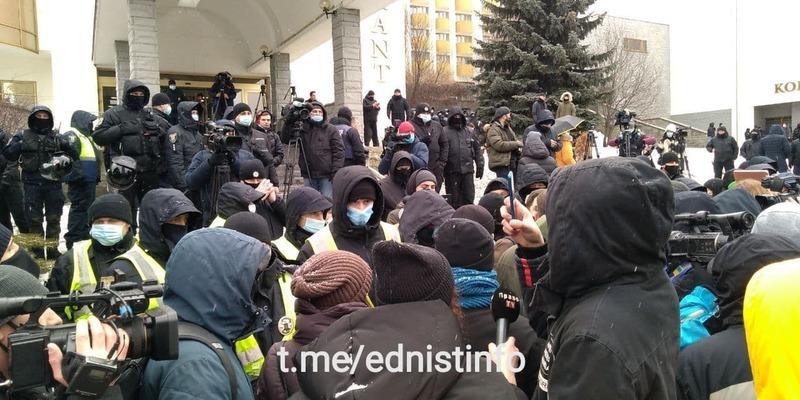 «Ні з'їзду суддівської нечисті» протест в Києві. Пряма трансляція