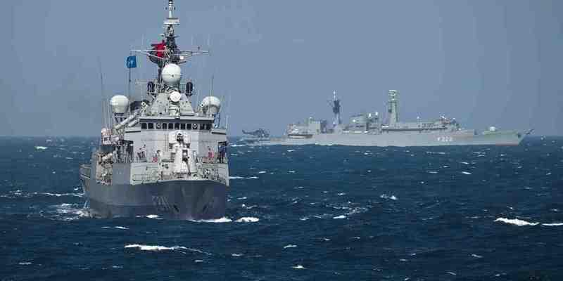 В Одеський порт зайшли 4 кораблі НАТО