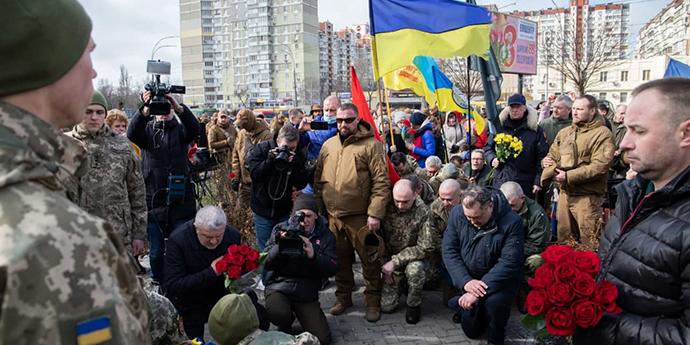 В Києві відзначили День добровольця