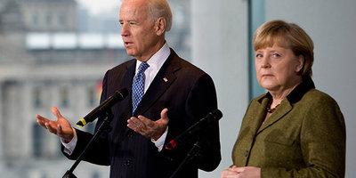 Байден і Меркель закликали Росію скоротити нарощування військ