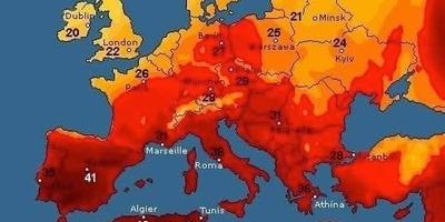 На Україну насувається аномальна спека