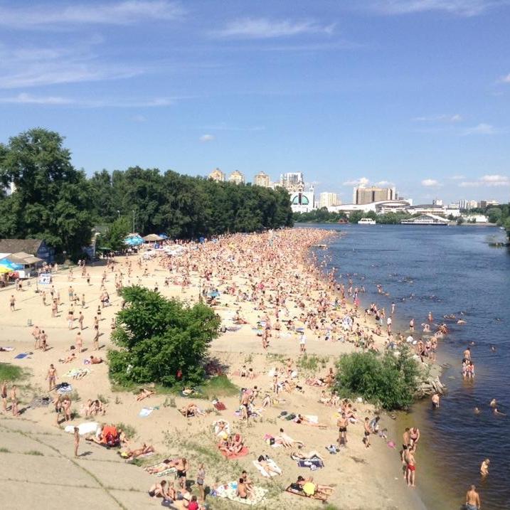 На київських пляжах виявлено небезпечну інфекцію
