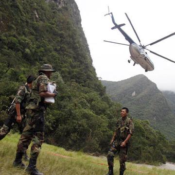 У Перу загинула жінка при спробі наблизитися до вертольота прем'єра